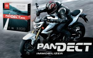 Мотосигнализация c CAN, GPS и автозапуском pandect x-1100 moto